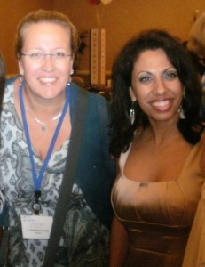 Elisabeth mit Pamela Geller